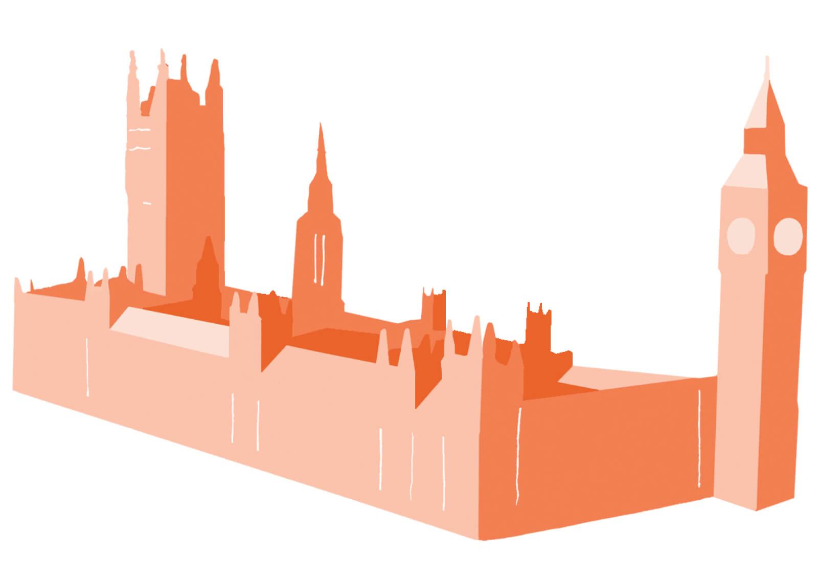 elitist britain illustration parliament.
