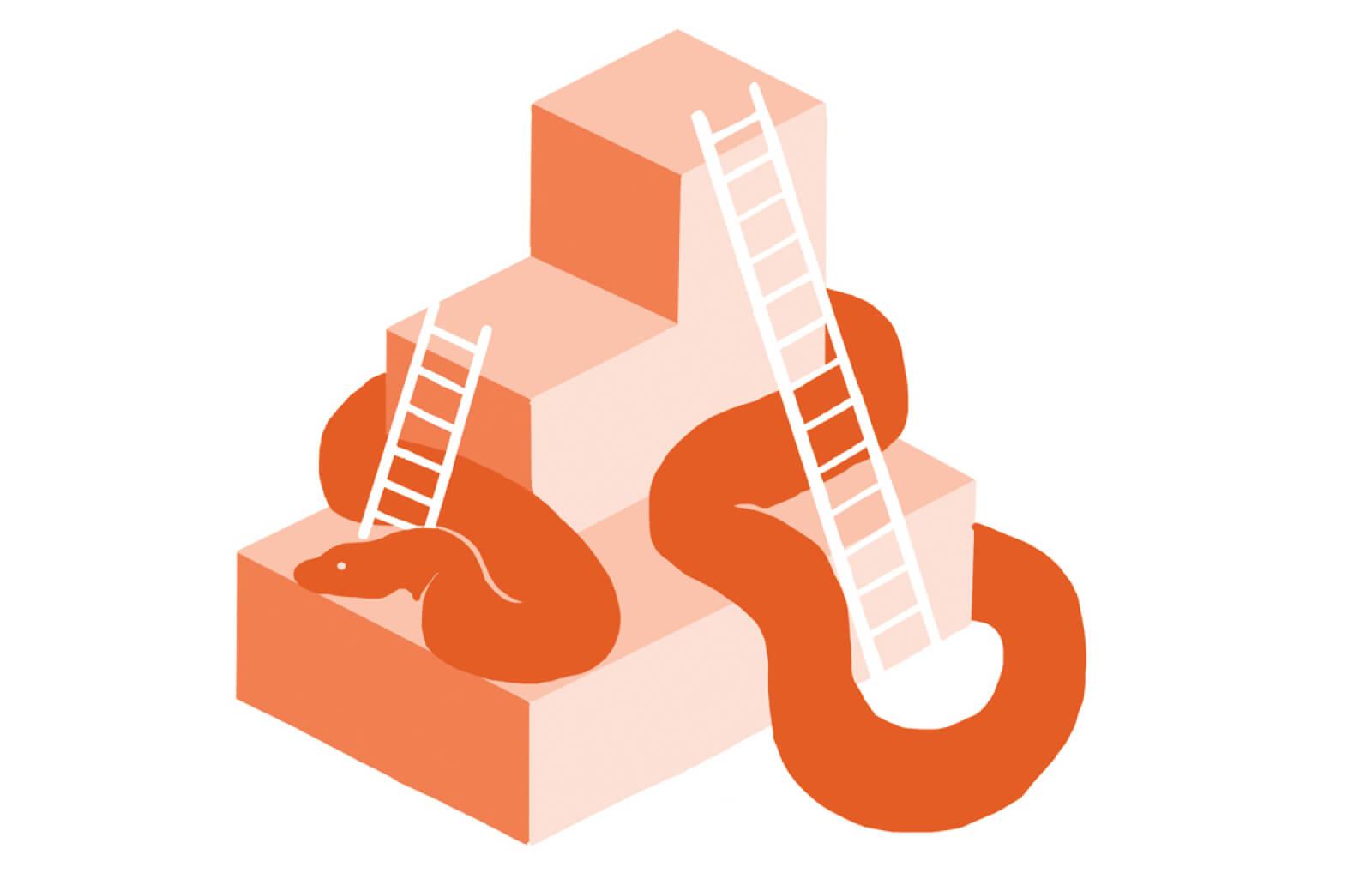 elitist britain illustration snakes